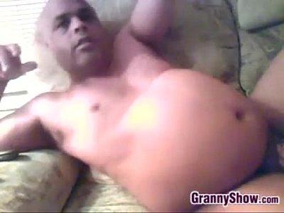 cock sucking Fat granny